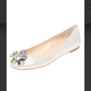 NINE WEST flat ballerina with beautiful details
